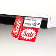 KostklipMD Coll. signature « Sale », pancarte à angle droit ShelfTalkerMC V2, 1,25x2,5 po, 2/2, 25/paq.