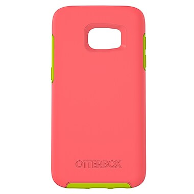 Otterbox Symmetry GS7 Phone Case, Pink/Green