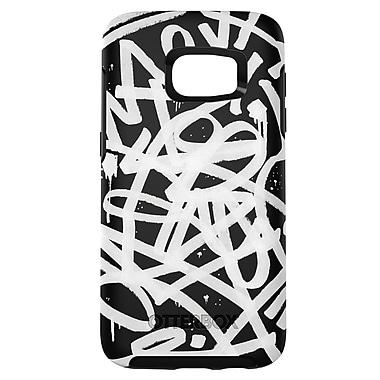 Otterbox Symmetry GS7 Graffiti Phone Case, Black