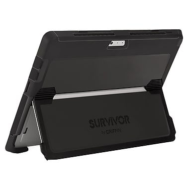 Griffin Survivor Slim Surface Pro 4, Black/Grey