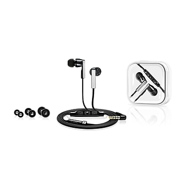 In Ear Headphones CX 5.00G, Integrated Smart Remote & Mic, Black