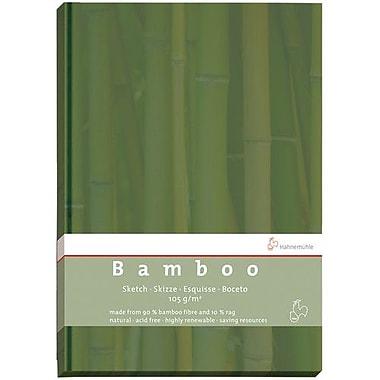 Hahnemuhle - Carnet de croquis en bambou, format A4, 64 feuilles