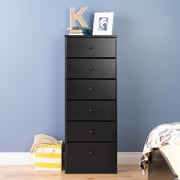 Prepac Astrid 6-Drawer Tall Chests