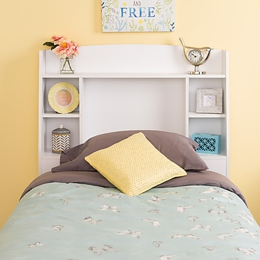 Prepac Astrid Twin Headboard, White