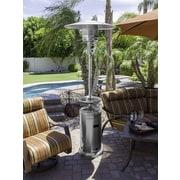 AZ Patio Heaters Tall Stainless Steel 41,000 BTU Propane Patio Heater