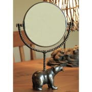 SPI Home Bear and Fish Mirror