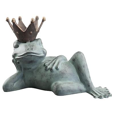 SPI Home Lazy Frog Prince Decorative Tray