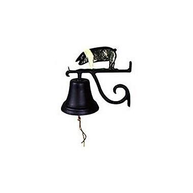 Montague Metal Products Cast Pig Bell; Black