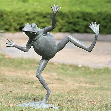 SPI Home Dancing Frog Spitter Statue