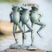 SPI Home Dancing Frog Trio Statue