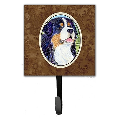 Caroline's Treasures Bernese Mountain Dog Leash Holder and Key Hook