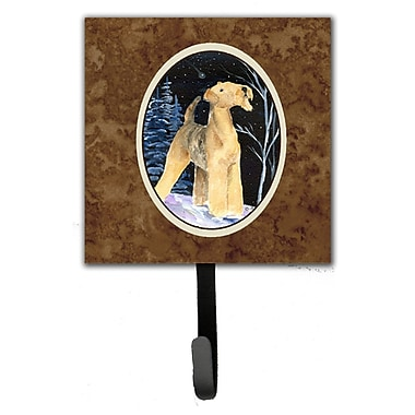Caroline's Treasures Starry Night Aiale Leash Holder and Key Hook