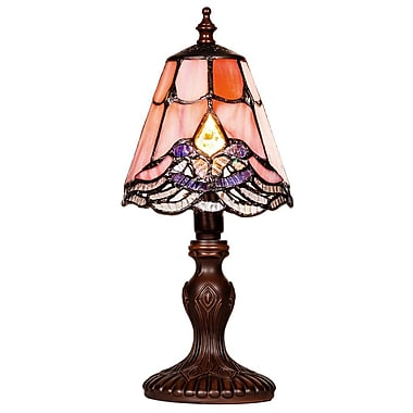 River of Goods Crystal Lace Tiffany 12.25'' Table Lamp