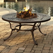 Pleasant Hearth Lorraine Fire Pit Table