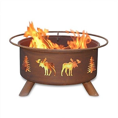 Patina Products Classic Steel Wood Burning Fire pit