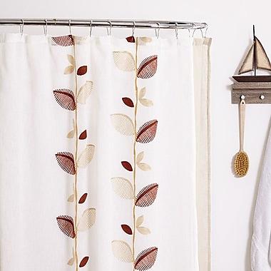 Popular Bath Products Alysia Shower Curtain