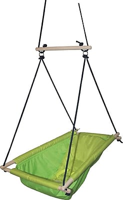 Phoenix Group AG Kids Hanging Chair; Green