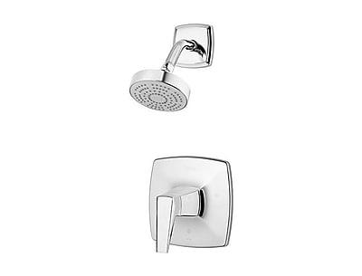 Pfister Arkitek Single Handle Shower Only Trim; Polished Chrome