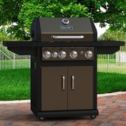 Dyna-Glo 4-Burner Natural Gas Grill w/ Cabinet