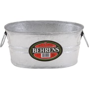 Behrens Hot Dipped Steel Oval Tub