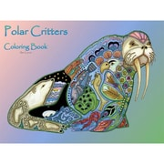 Polar Critters Coloring Book Spiral Bound EACB 125