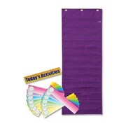 Pacon Creative Products Pocket Chart w/ Dry-Erase Card