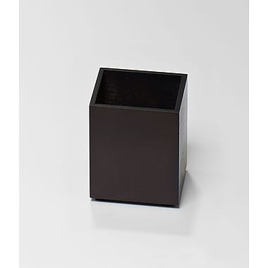 Bindertek Bright Wood Desk Organizing System, Pencil Cup, Black (BTPCUP-BK)
