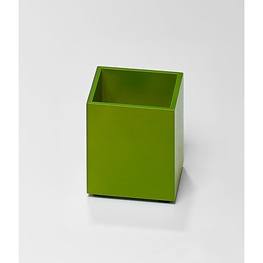 Bindertek Bright Wood Desk Organizing System, Pencil Cup, Green (BTPCUP-GR)