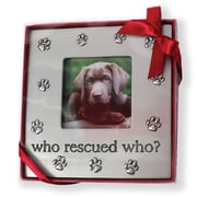 DEI ''Who Rescued Who'' Picture Frame