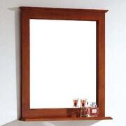 Dawn USA American Solid Wood and Plywood Frame Mirror w/ Shelf