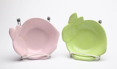 CosmosGifts Bunny Bowls (Set of 4)