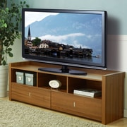 Hokku Designs Hull 60'' TV Stand; Light Walnut