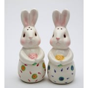 CosmosGifts 2 Piece Bunnies Forever Salt and Pepper Shaker Set