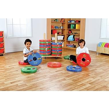 Kalokids Donut Kids Floor Cushion w/ Storage Compartment