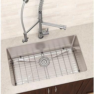 Ancona Premium 32'' x 19'' Under Mount Single Bowl Kitchen Sink
