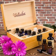 Welledia Aroma Storage Essential Oil Wooden Box