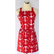 SF Bay Aprons Cotton Sailor XC Apron; Red