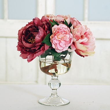 Jane Seymour Botanicals Mixed Centerpiece in Decorative Vase