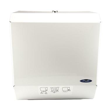 Frost Auto Cut Paper Towel Dispenser; White Epoxy Powder