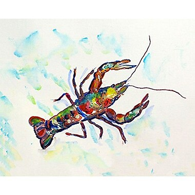 Betsy Drake Interiors Crayfish Doormat; 2'6'' x 4'2''
