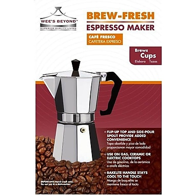 Wee's Beyond Brew-Fresh Espresso Maker; 9 Cups