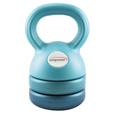 Empower 3-In-1 Kettlebell With DVD, (MP-3129R)