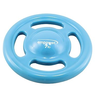 Empower Fusion Fit Disc With DVD, 7lb, Blue, (MP-3259R)