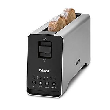Cuisinart – Grille-pain motorisé à longue fente pour 2 tranches (CPT-2000C)