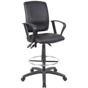 Multi-Functional Drafting Chair, Black