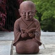 Alfresco Home Reading Buddha Statue