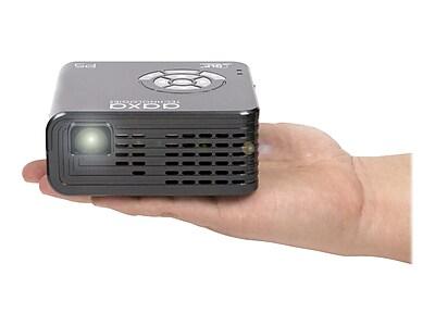 AAXA Technologies Pico P5 WXGA LED DLP Projector, Gray IM13E7431