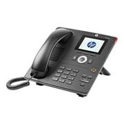 HP® Unified 4120 IP Phone, Corded, Office Phones, Black