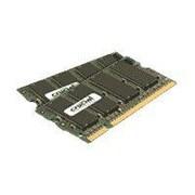 Crucial™ CT2KIT12864AC800 2GB (2 x 1GB) DDR2 SDRAM SODIMM DDR2-800/PC2-6400 RAM Module