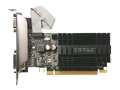 Zotac® NVIDIA GeForce GT 710 DDR3 PCI Express 2.0 x8 1GB Graphic Card